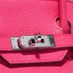 Hermès Birkin 30 Taurillion Clemence Rose Extreme