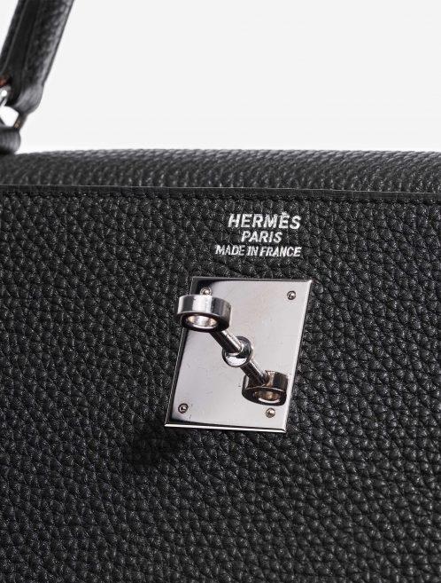 Hermès Kelly 35 Togo Black Black  | Sell your designer bag on Saclab.com