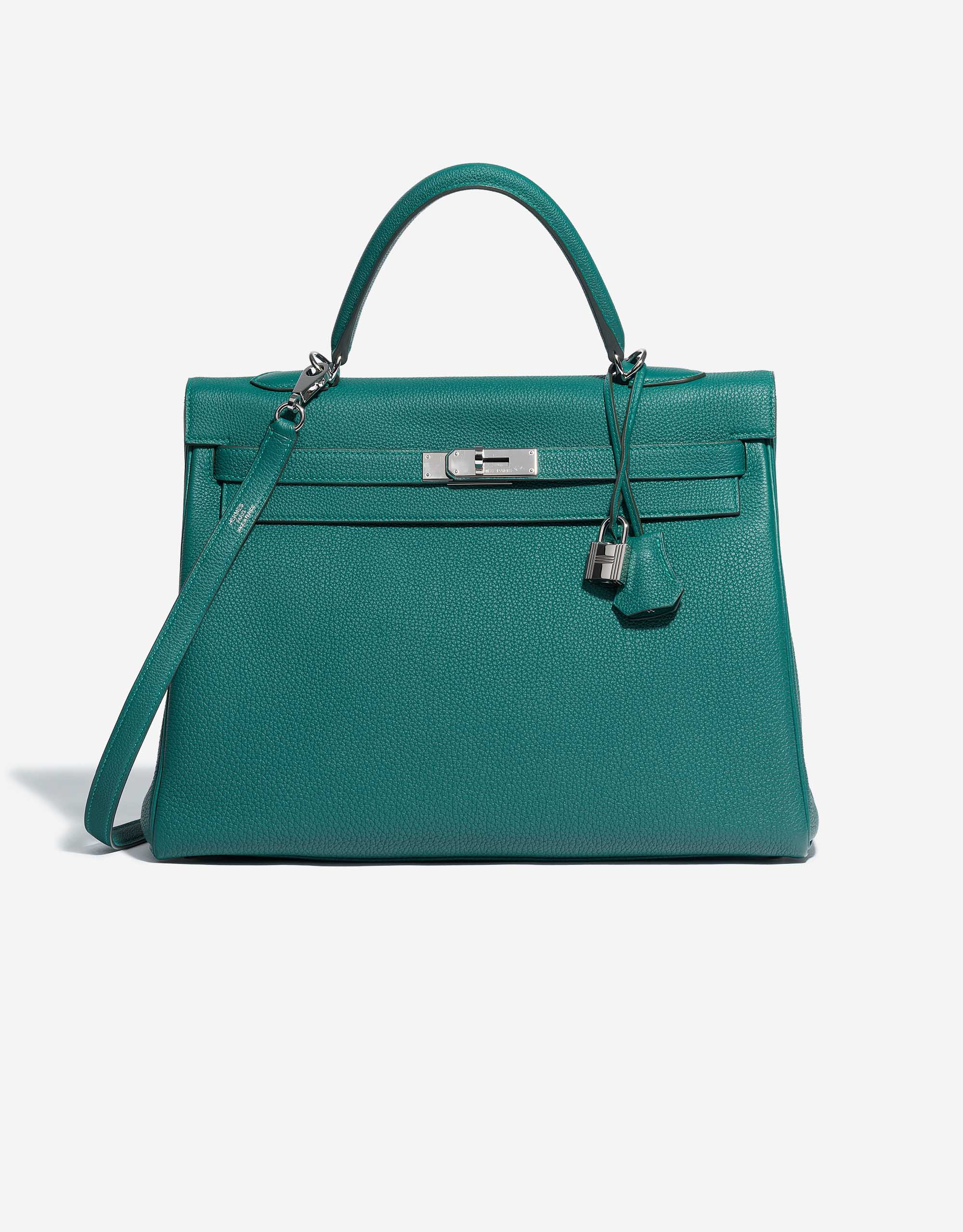 Hermès Kelly 35 Togo Malachite | SACLÀB