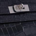 Hermès Kelly 35 Matte Niloticus Black