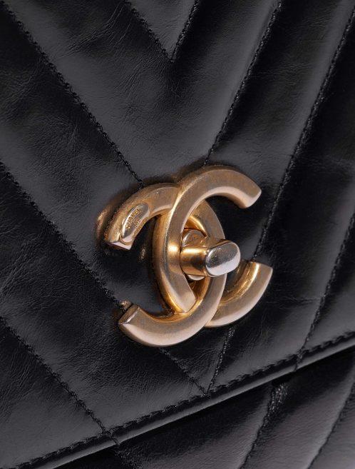 Chanel Handle Medium Calf Black