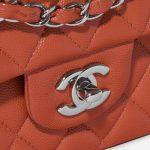 Chanel Timeless Medium Caviar Coral Red