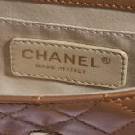 Chanel Timeless Cruise Charm Micro Lamb Camel