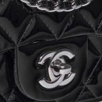 Chanel Timeless Extra Mini Patent Leather Black