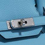 Hermès Birkin 30 Taurillion Clemence Blue du Nord