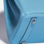 Hermès Birkin 30 Taurillion Clemence Blue du Nord Blue    Sell your designer bag on Saclab.com