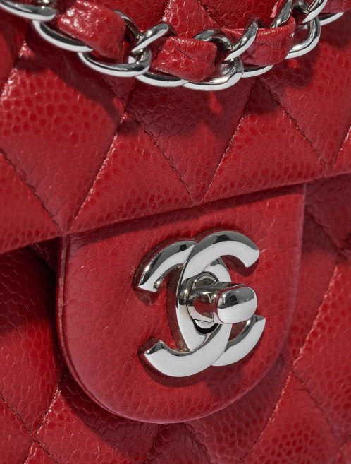 Chanel Timeless Medium Caviar Red Red  | Sell your designer bag on Saclab.com