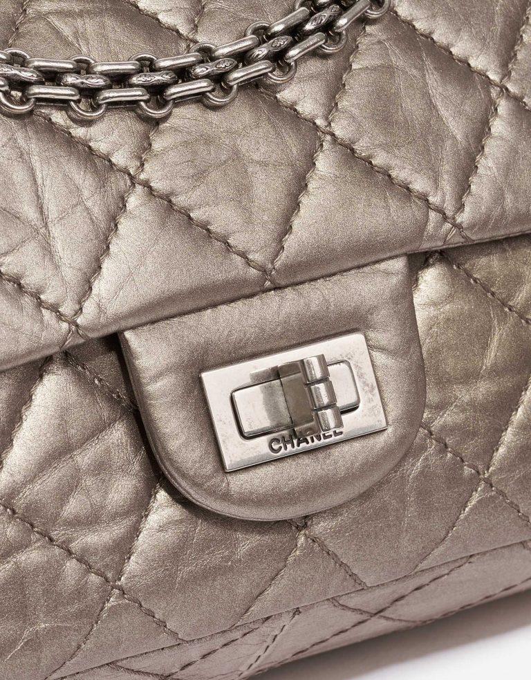 Chanel 2.55 227 Lamb Metallic Bronze