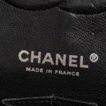Chanel Timeless Medium Lamb Camellia Black