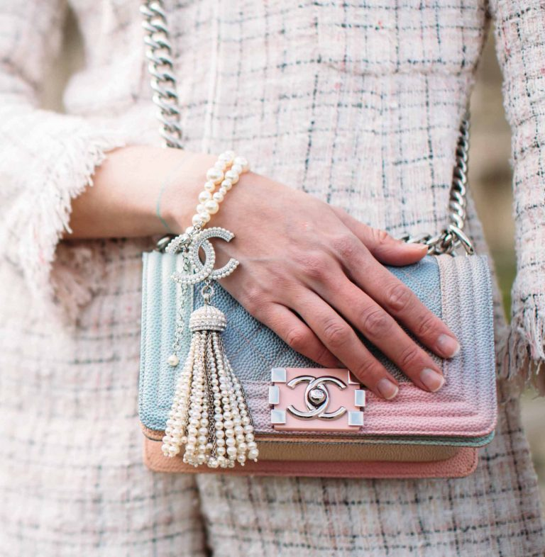 Chanel Rainbow Boy Bag | Shop pre-loved luxury bags at SACLÀB