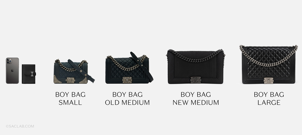 Chanel Boy Bag Size Guide | Shop pre-loved luxury bags on SACLÀB