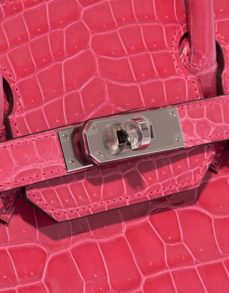 Hermès Birkin 30 Porosus Crocodile Rose Extreme