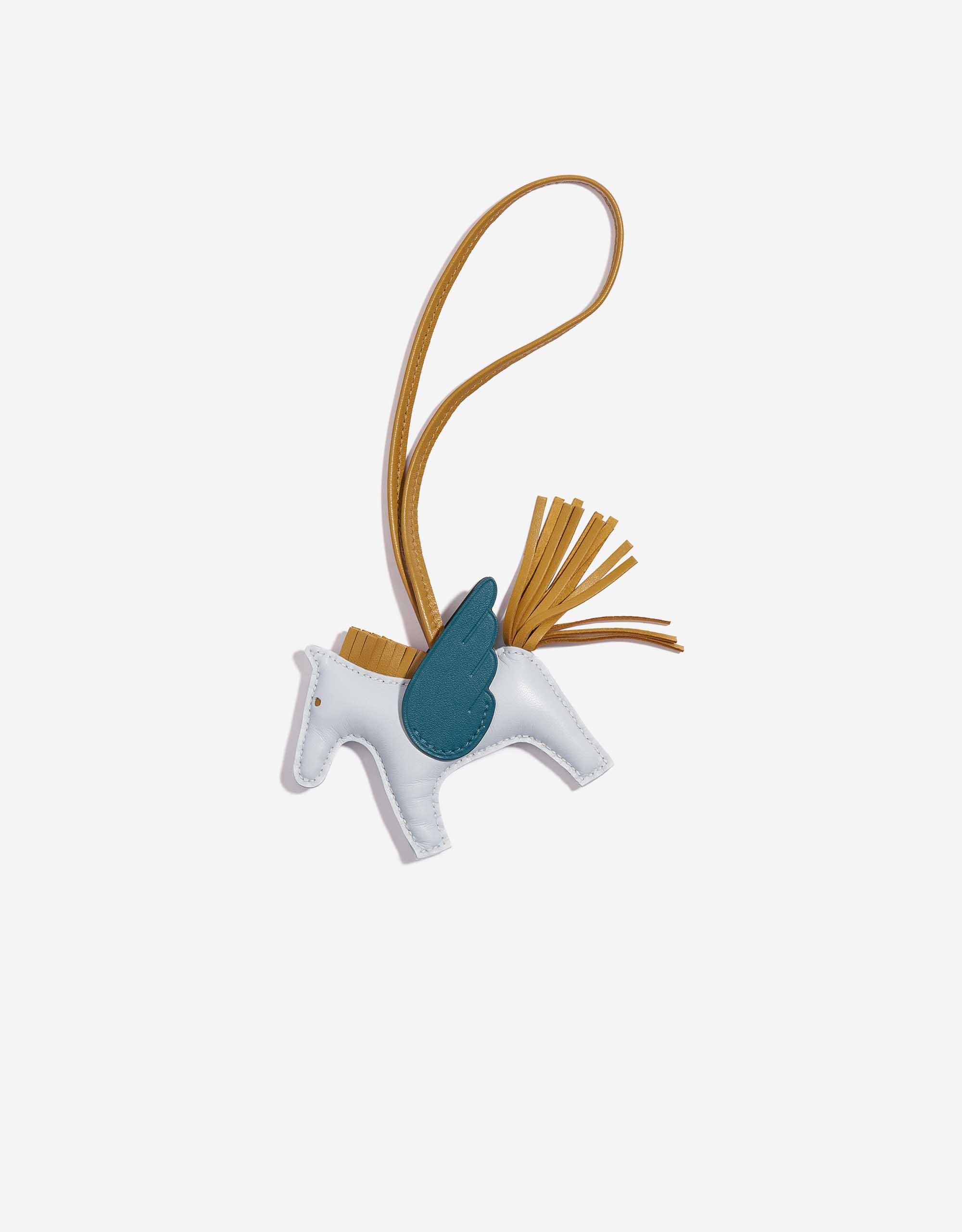Hermès Rodeo Pegasus PM Swift Blue Brume   SACLÀB
