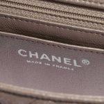 Chanel Timeless Mini Rectangular Goat Metallic Champagne