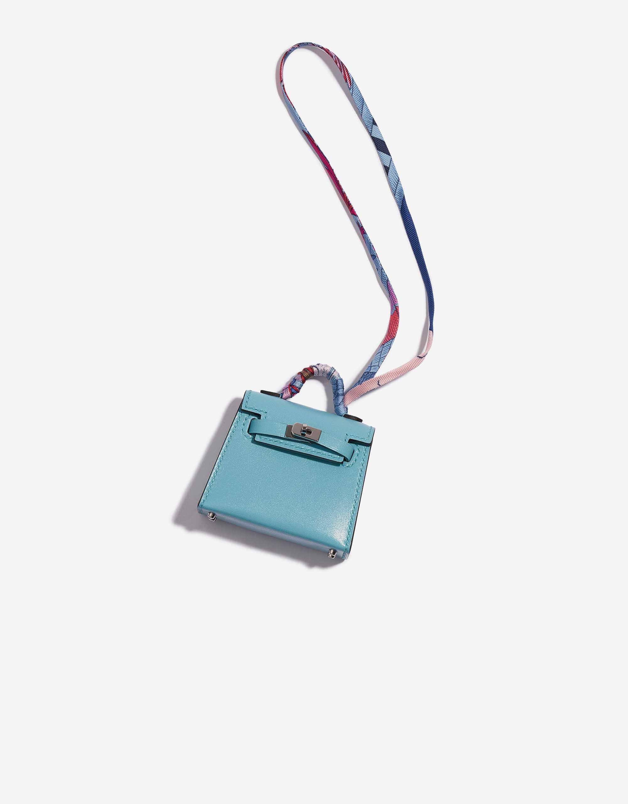 Hermès Kelly Micro Swift Blue Atoll | SACLÀB