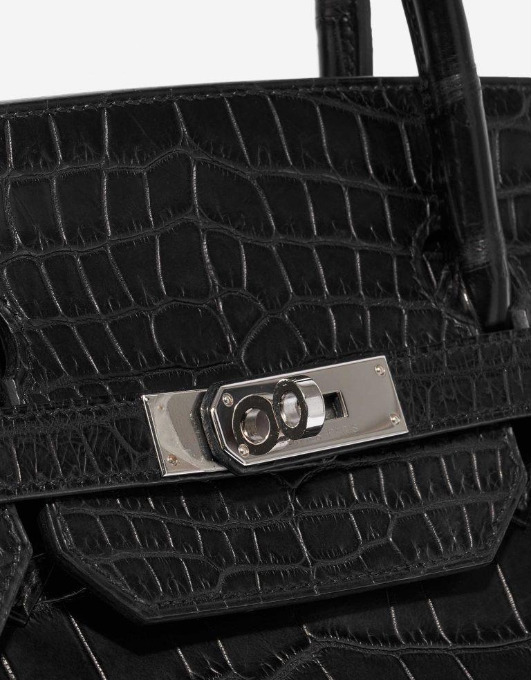 Hermès Birkin 40 Matte Porosus Crocodile Black