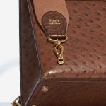 Hermès Kelly 32 Ostrich Marron