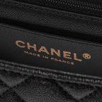 Chanel Timeless Handle Mini Rectangular Caviar Black