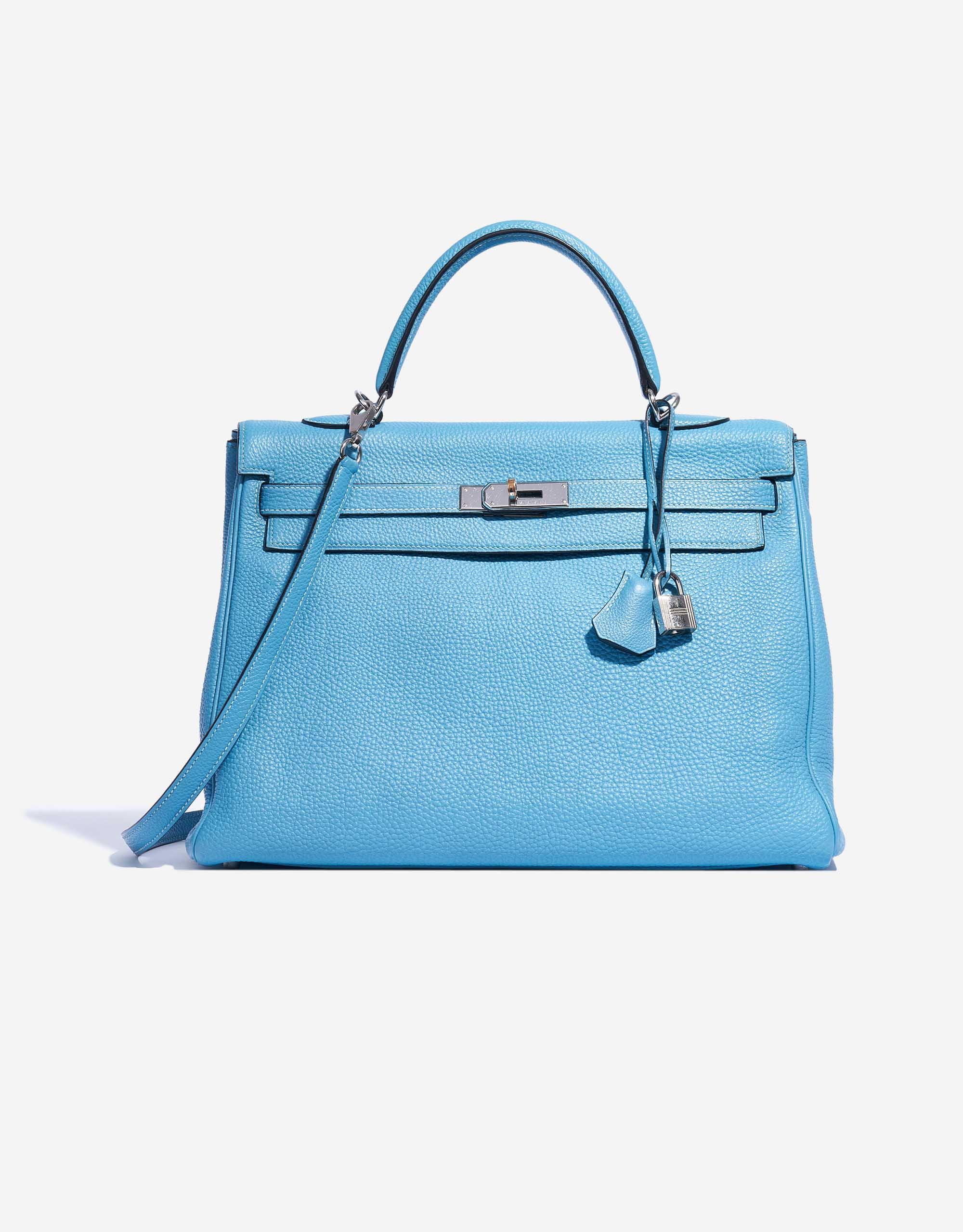 Hermès Kelly 35 Togo Blue Jean | SACLÀB