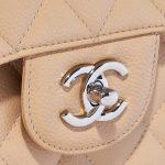 Chanel Timeless Jumbo Caviar Beige