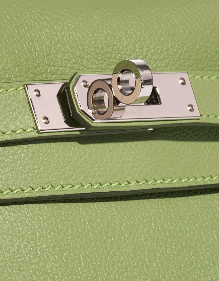 Hermès Kelly Ado PM Evercolor Vert Criquet / Bleu Brume