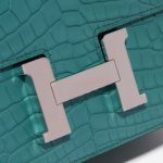 Hermès Constance 18 Matte Alligator Blue Paon