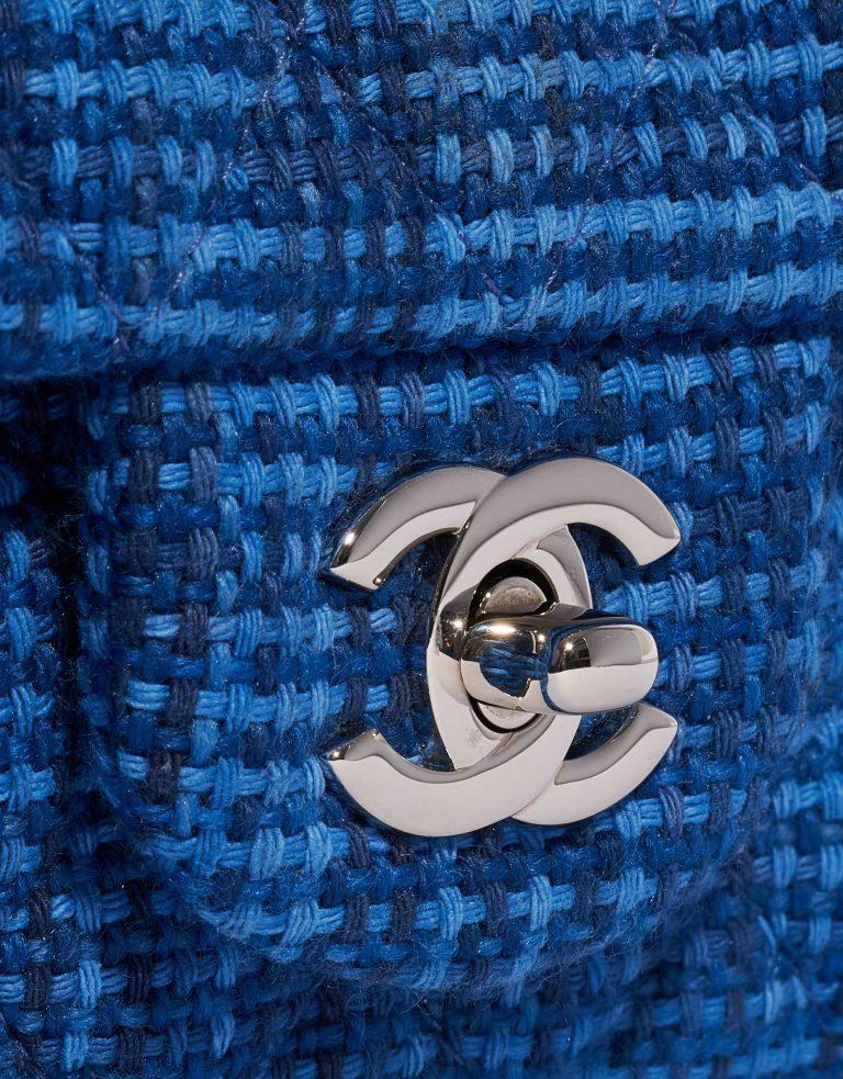 Chanel Timeless Mini Rectangular Wool Blue