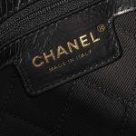 Chanel Timeless Medium Calf / Flower Ornament Black