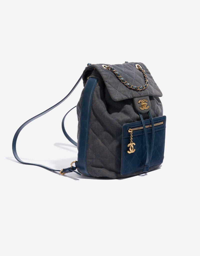 Chanel Backpack Denim Blue