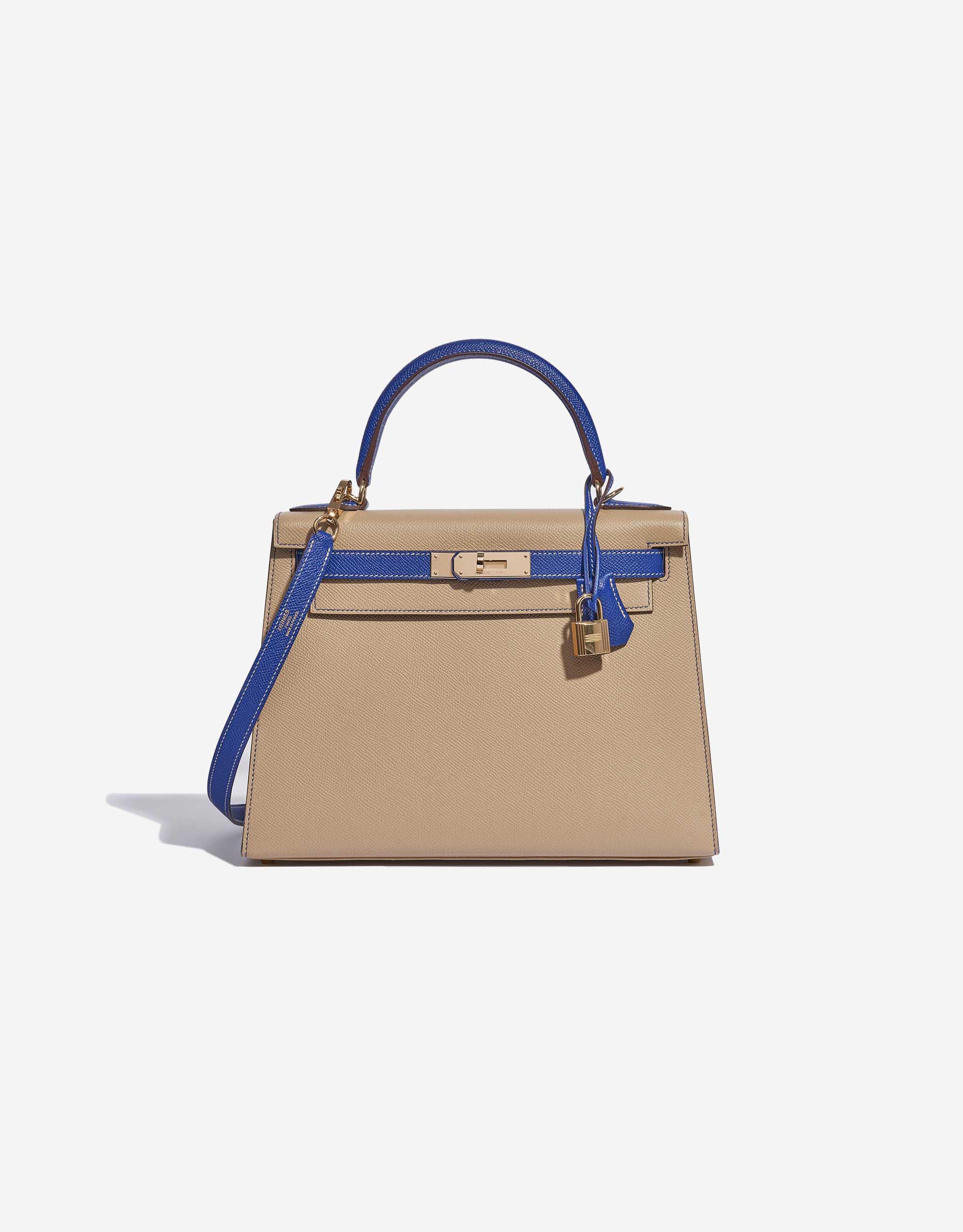 Hermès Kelly 28 HSS Epsom Trench / Blue Electrique | SACLÀB