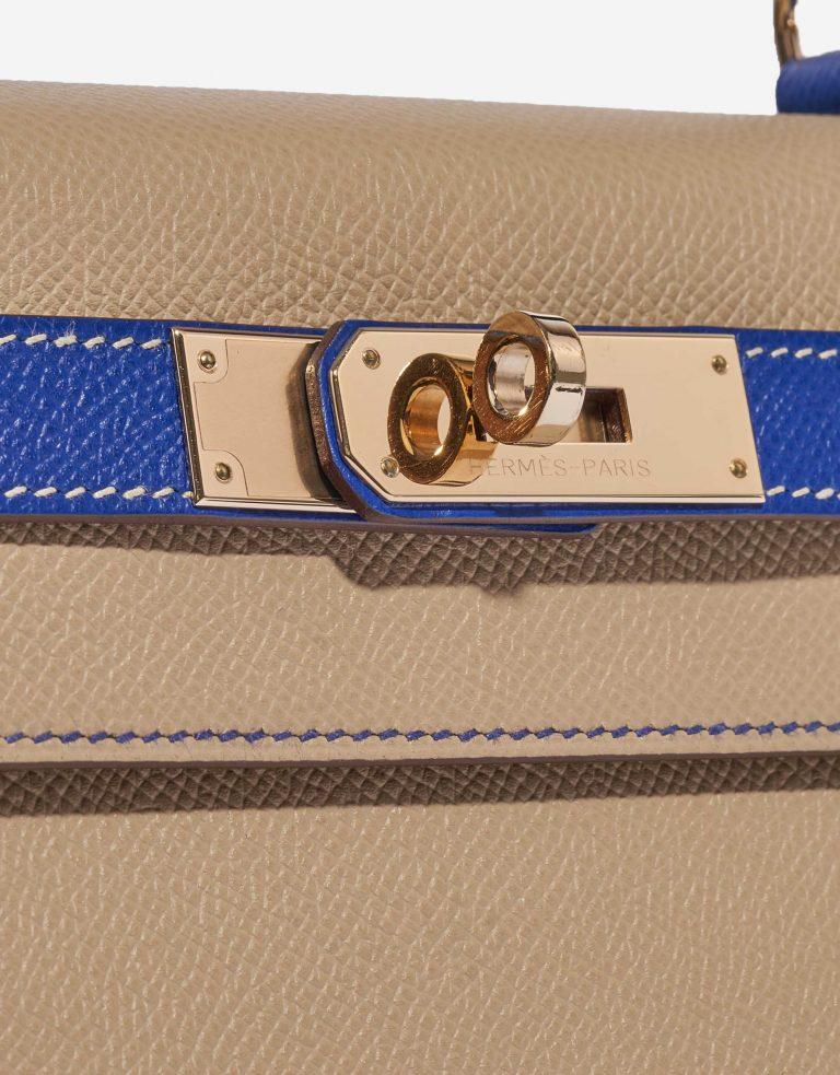 Hermès Kelly 28 HSS Epsom Trench / Blue Electrique
