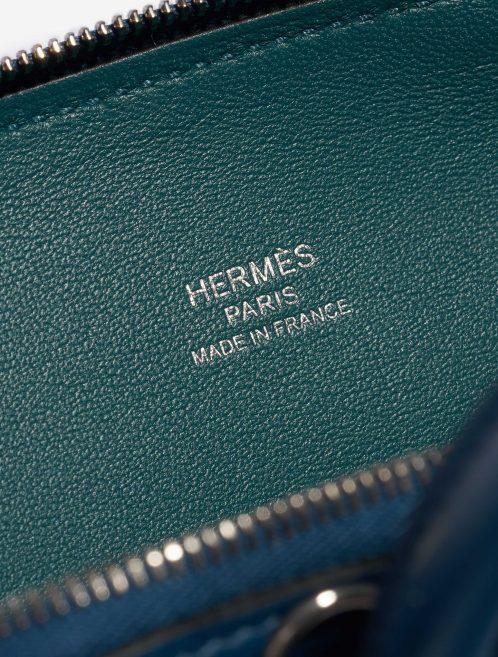 Hermès Bolide Mini Evercolor Vert Bosphore