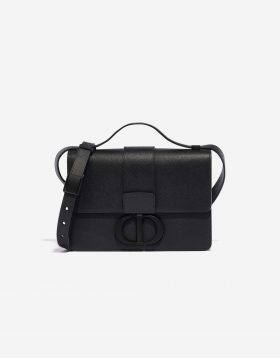 Dior 30 Montaigne Calf Black