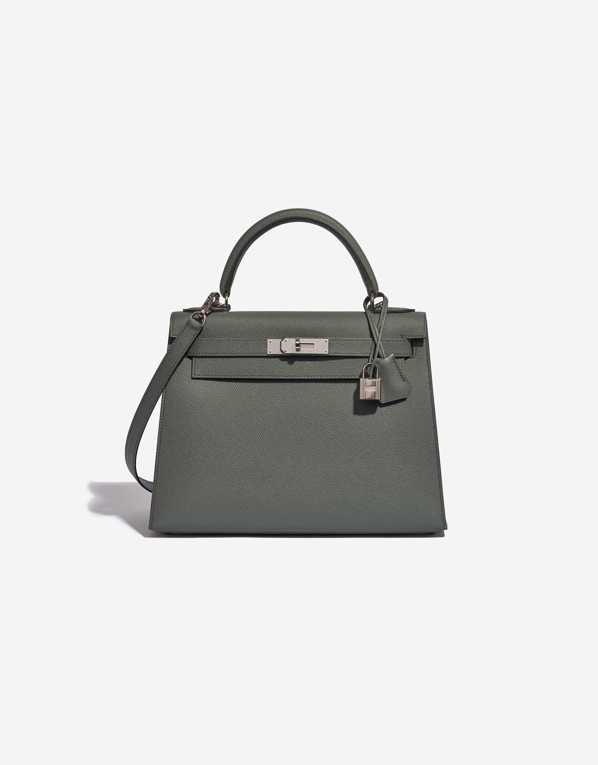 Hermès Kelly 28 Epsom Vert Amande | SACLÀB
