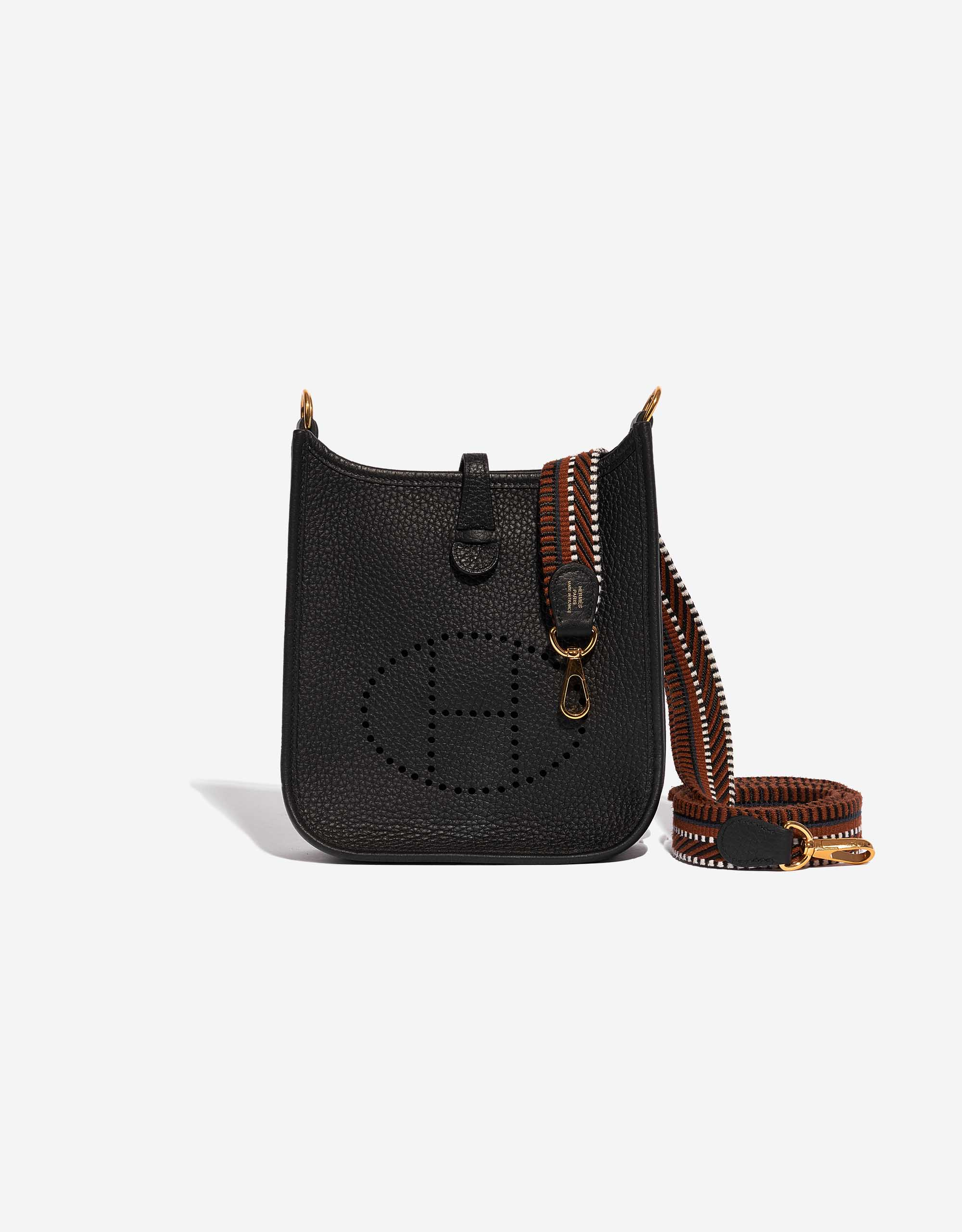 Hermès Evelyne 16 Clemence Black / Noisette | SACLÀB