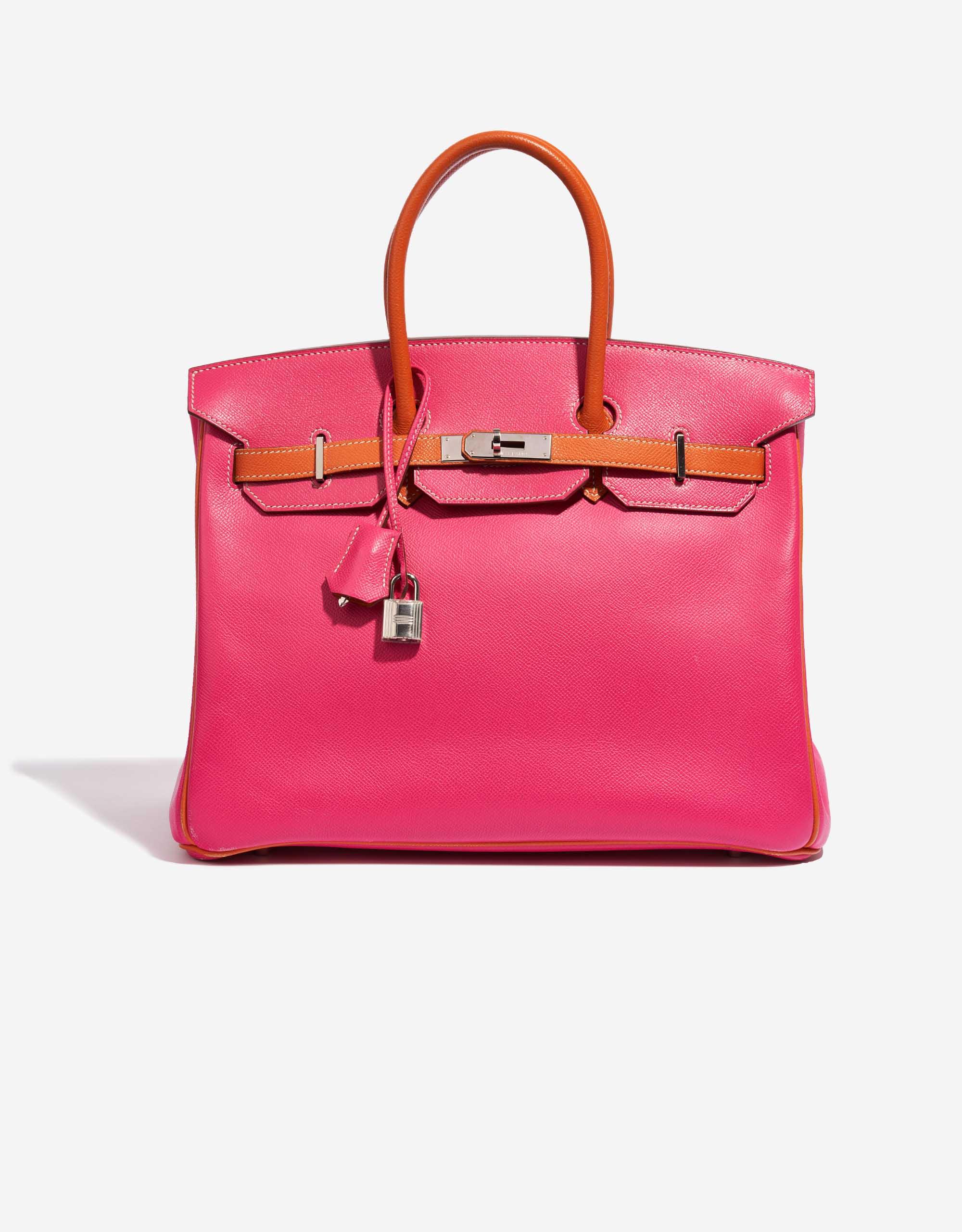 Hermès Birkin 35 HSS Epsom / Rose Tyrien / Orange | SACLÀB