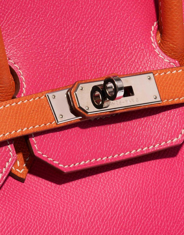 Hermès Birkin 35 HSS Epsom / Rose Tyrien / Orange