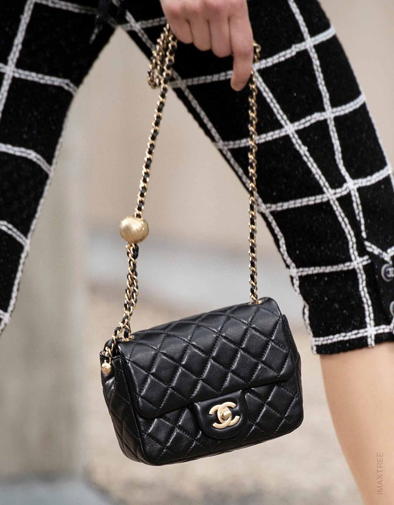 A classic Chanel Flap Bag, designed for Spring/Summer 2020