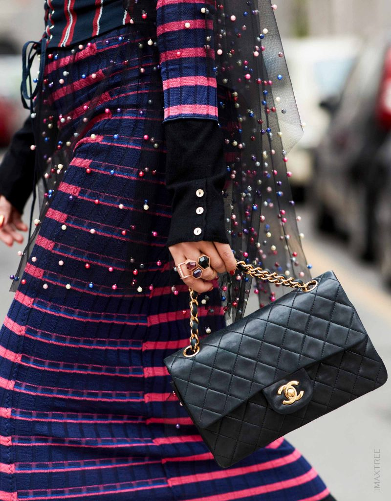 Streetstyle Chanel Timeless Classic Flap Bag