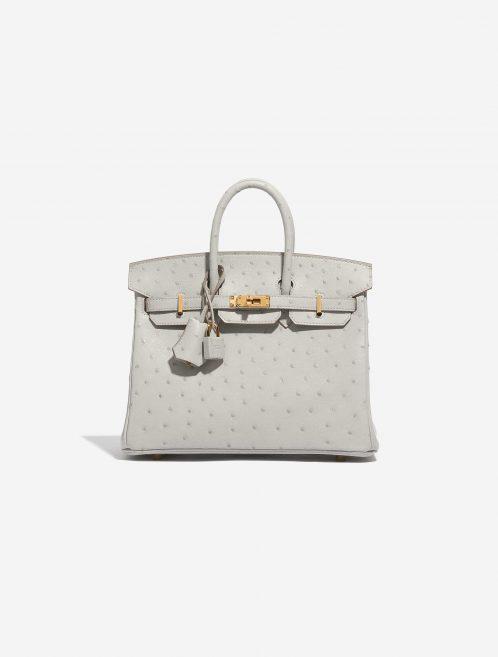 Hermès Birkin 25 Ostrich Gris Perle
