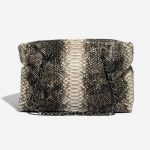 Chanel Shopping Tote Python Black / Beige Black, Natural Back | Sell your designer bag on Saclab.com