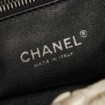 Chanel Shopping Tote Python Black / Beige Black, Natural Logo | Sell your designer bag on Saclab.com