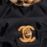 Chanel Diana Small Patent Leather Black