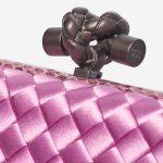 Bottega Veneta Knot Chain Silk / Watersnake Lilac