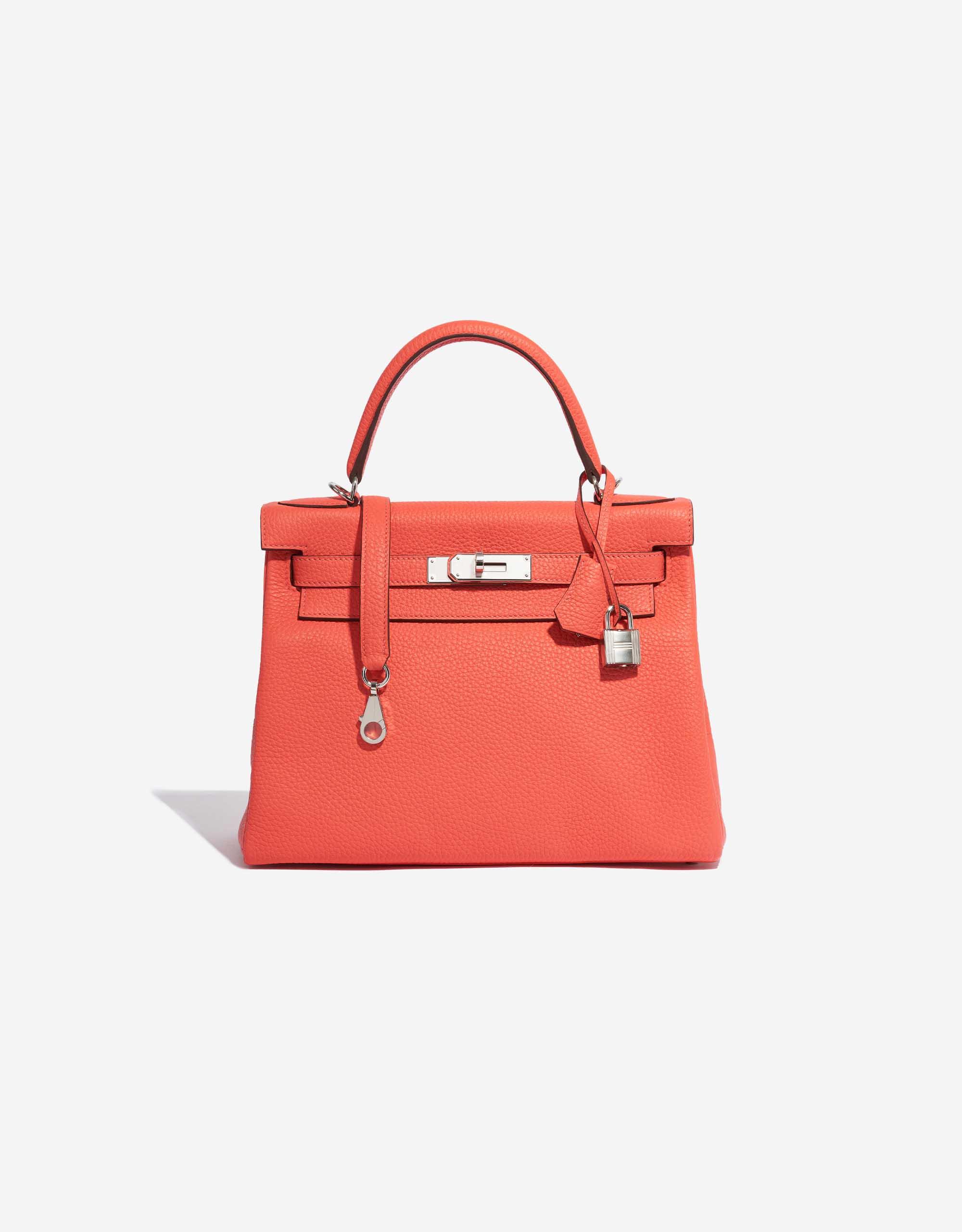 Hermès Kelly 28 Clémence Rose Texas | SACLÀB