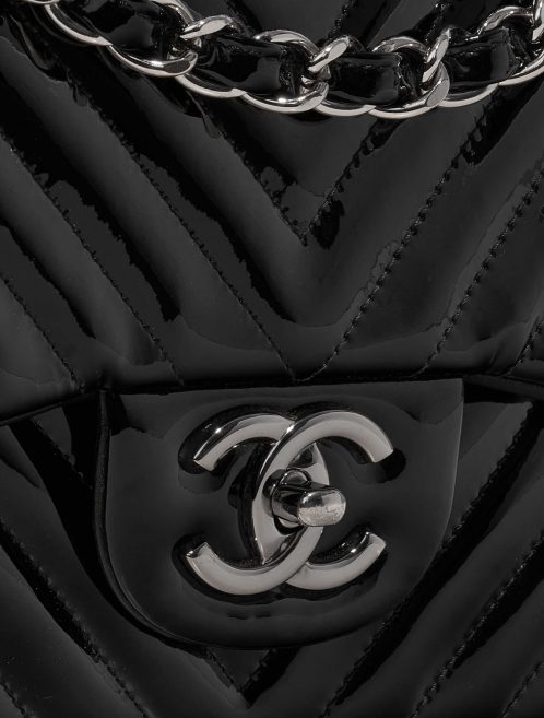 Chanel Timeless Jumbo Patent Leather Black