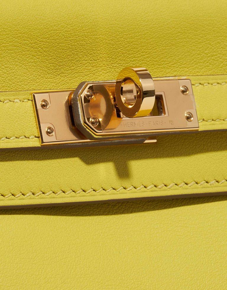 Hermès Kelly 25 Swift Lime