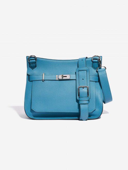 Hermès Jypsiere 34 Taurillon Clemence Turquoise