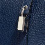 Hermès Picotin 22 Taurillon Clemence Blue Saphir