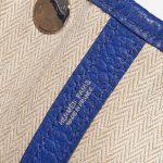 Hermès Garden Party 30 Clemence Blue Electrique